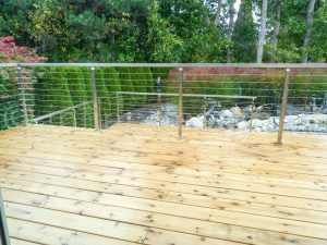 aluminum deck railing 300x225