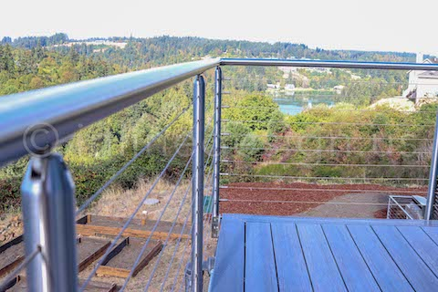 baluster deck railing