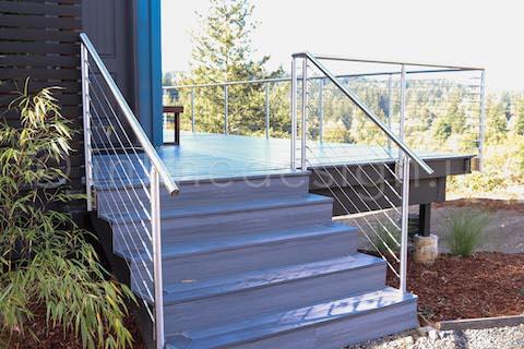 four steps railing