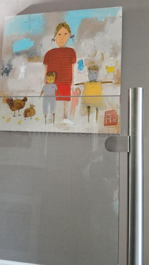 beautiful paint glass