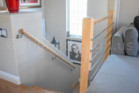 handrail bracket stairway