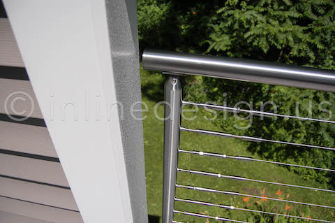 End Cap Deck Railing