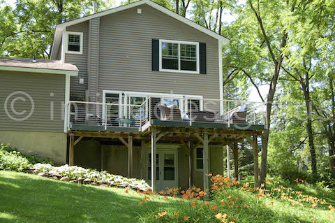 Exterior Deck Cable Railing