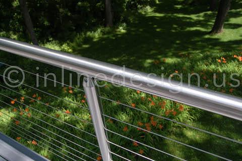 Round Handrail Railing
