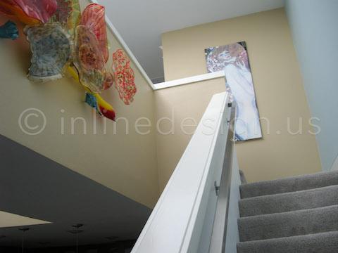 square bracket handrail