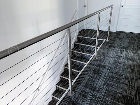 railing stair cable