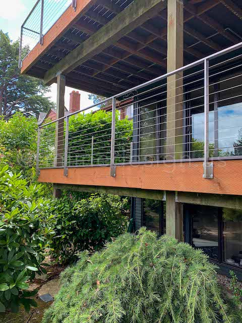 arcadia cable railing balconies