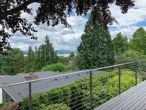 balcony cable railing arcadia