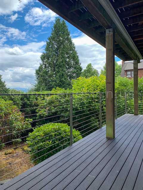 beautiful arcadia cable railing