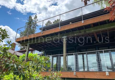 cable railing arcadia decks