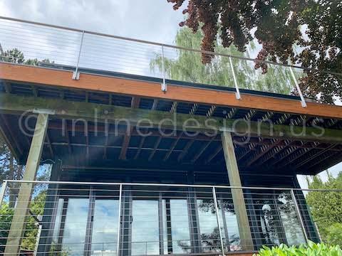 cable railing decks arcadia