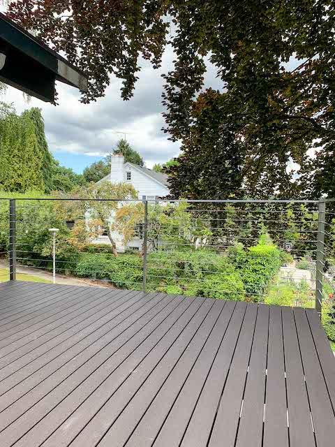 cable railing exterior arcadia