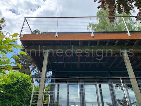 cable railing view decks
