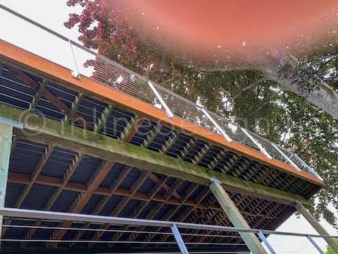exterior cable railing arcadia