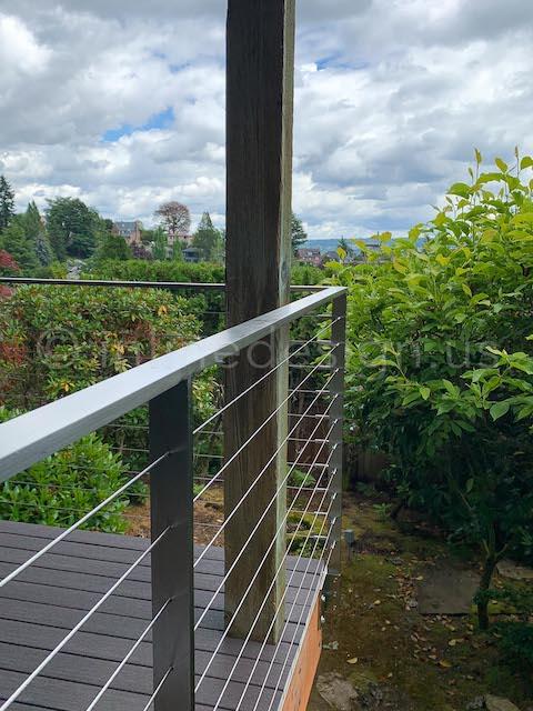 outside arcadia cable railing