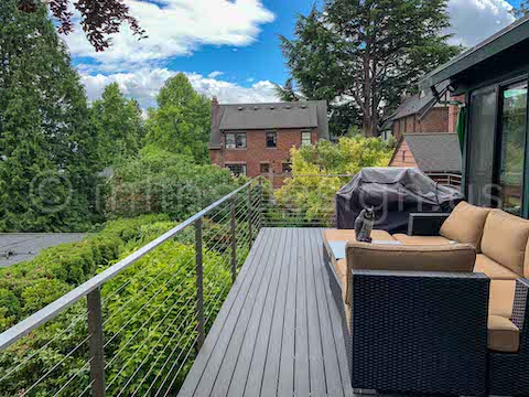 patio cable railing arcadia