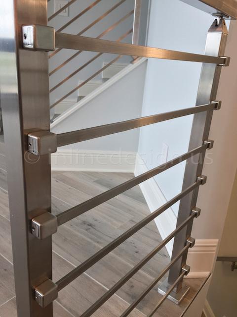 horizontal bars railing