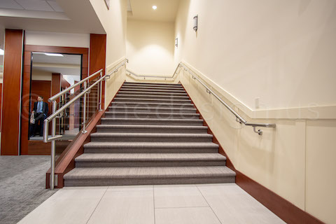 handrail system commercial