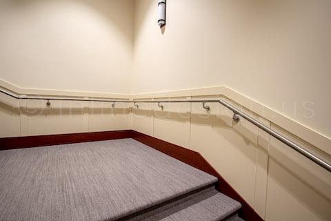 landing stairs handrail
