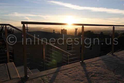 railing sun