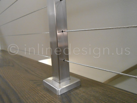 stainless steel middle post
