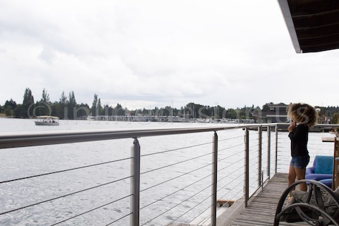 stainless steel cable waterfront railing round