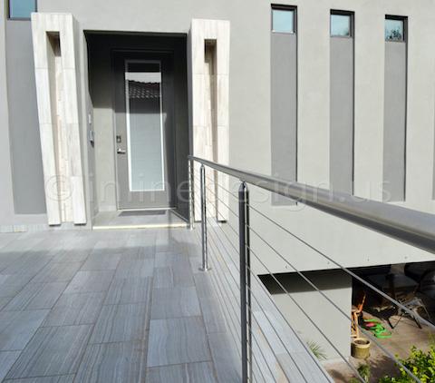cable railing catwalk