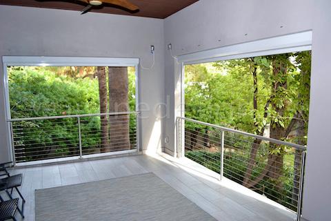 cable railing corner