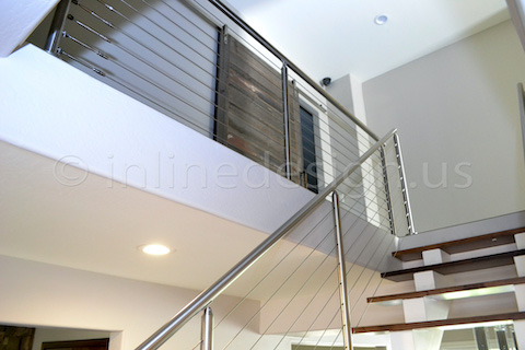 cable railing modern