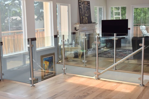 stainless steel glass railing main