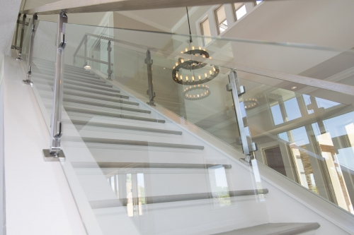 stainless steel railing glass Miami