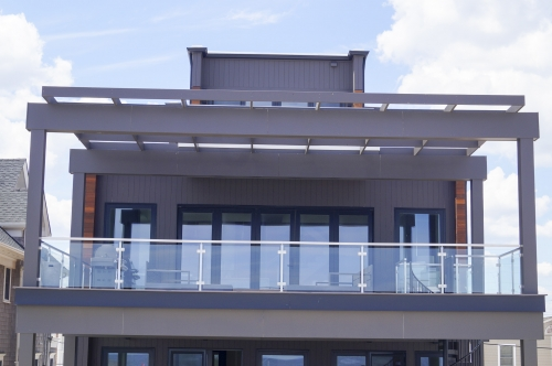 stainless steel beach cable railing balcony