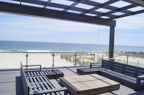 stainless steel beach cable railing deck