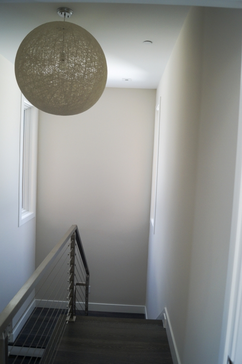 stainless steel beach cable railing inside