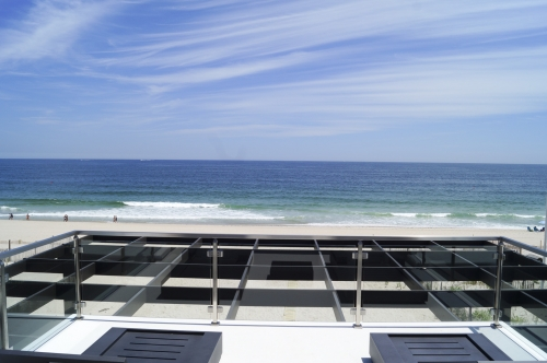 stainless steel beach cable railing ocean