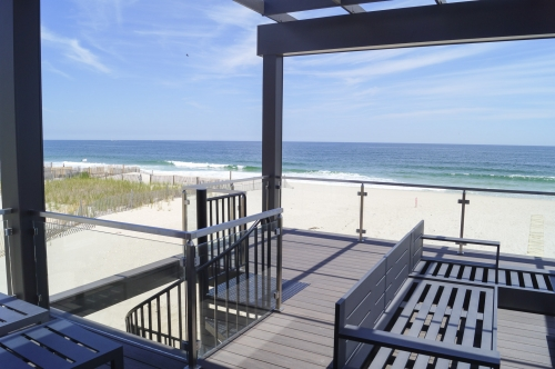 stainless steel beach cable railing patio