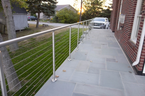 stainless steel cable railing beautiful