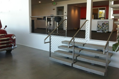 railing cable handrail stairs