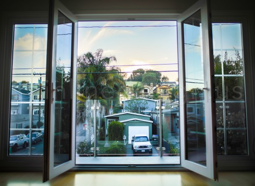 stainless steel railing glass fascia