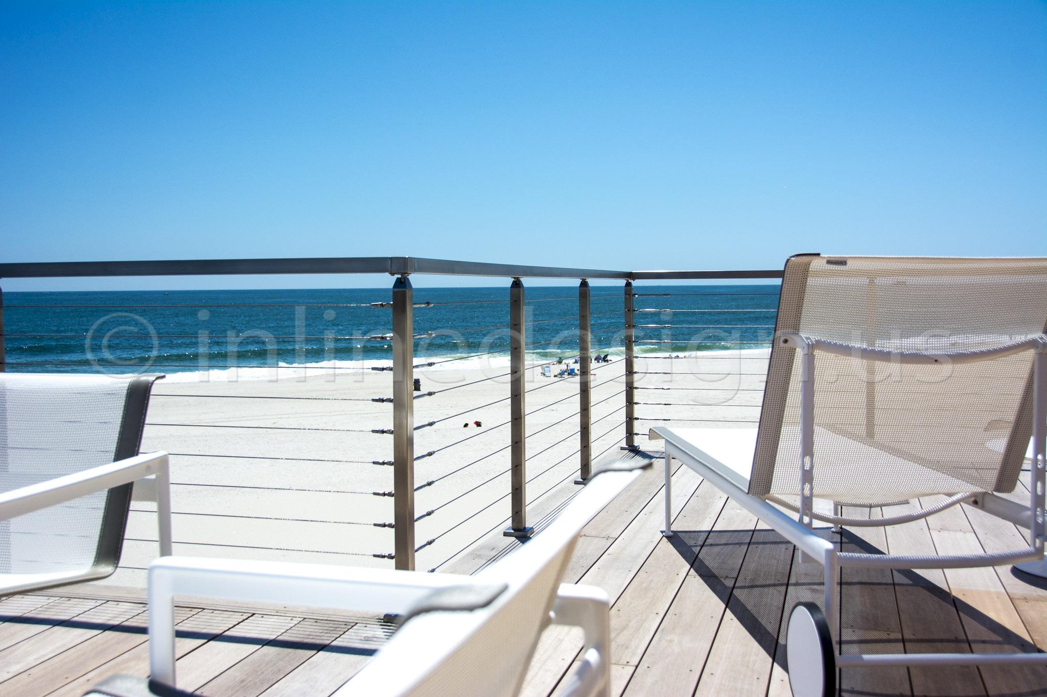 ocean view rail deck