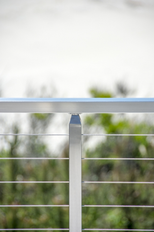 stainless steel cable railing handrail bracket