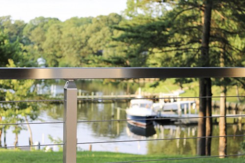 stainless steel cable railing architecture