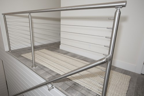 stainless steel cable railing wall bracket