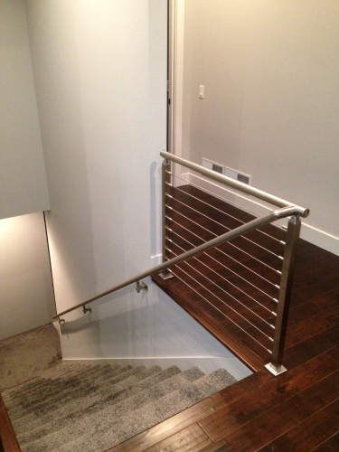 stainless steel cable railing square
