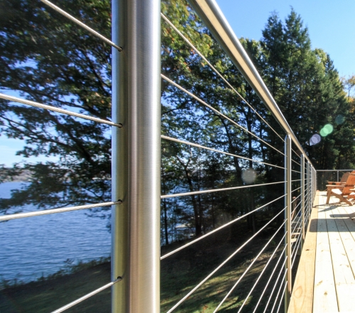 stainless steel cable railing miami round fascia