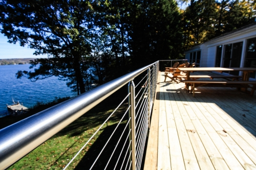 stainless steel cable railing miami round