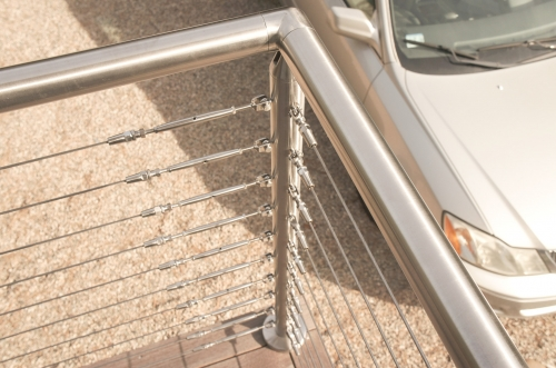 stainless steel cable railing tensioner