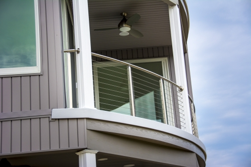 stainless steel cable railing balcony