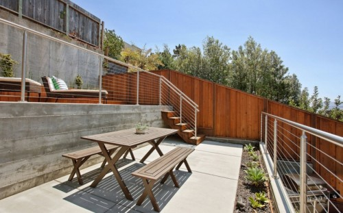 stainless steel cable railing round