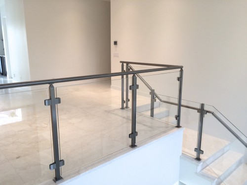 stainless steel glass railing florida